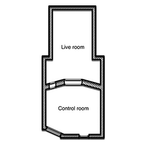 Propast Studio B floorplan