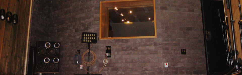 Nahrávací studia Propast Studio B live room