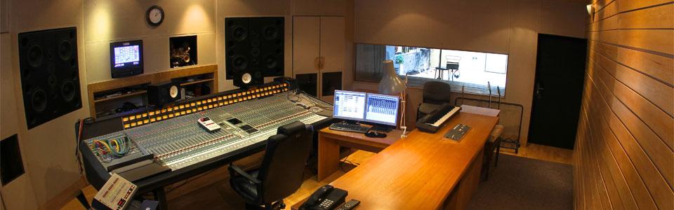 Nahrávací studia Propast - Studio A